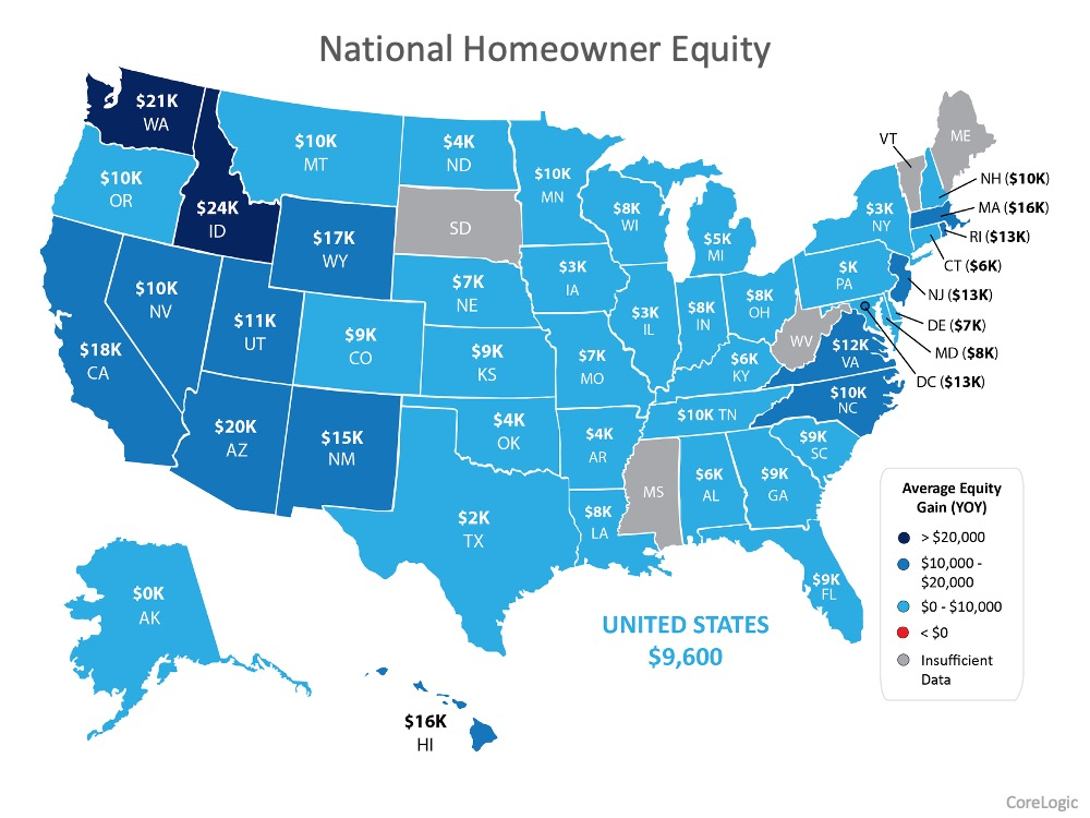 Want to Make a Move? Homeowner Equity is Growing Year-Over-Year   Simplifying The Market